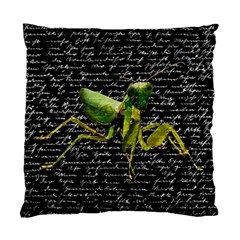 Mantis Standard Cushion Case (two Sides) by Valentinaart