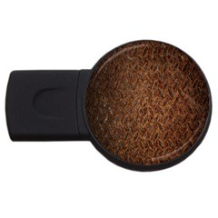 Texture Background Rust Surface Shape Usb Flash Drive Round (2 Gb) by Simbadda
