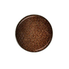 Texture Background Rust Surface Shape Hat Clip Ball Marker (10 Pack) by Simbadda