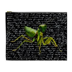 Mantis Cosmetic Bag (xl) by Valentinaart