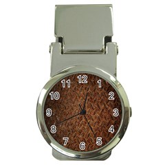 Texture Background Rust Surface Shape Money Clip Watches by Simbadda