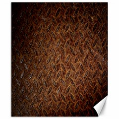 Texture Background Rust Surface Shape Canvas 8  X 10  by Simbadda