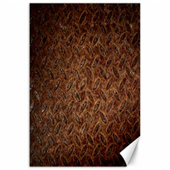 Texture Background Rust Surface Shape Canvas 20  X 30   by Simbadda