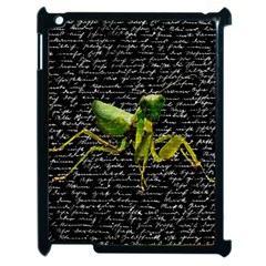 Mantis Apple Ipad 2 Case (black) by Valentinaart