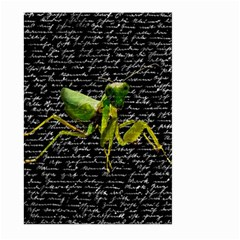 Mantis Large Garden Flag (two Sides) by Valentinaart