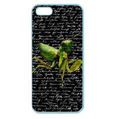 Mantis Apple Seamless Iphone 5 Case (color) by Valentinaart