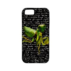 Mantis Apple Iphone 5 Classic Hardshell Case (pc+silicone) by Valentinaart