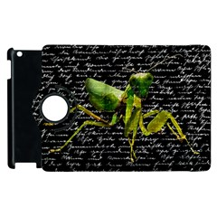 Mantis Apple Ipad 3/4 Flip 360 Case by Valentinaart