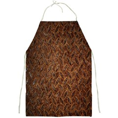 Texture Background Rust Surface Shape Full Print Aprons by Simbadda