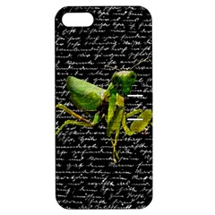 Mantis Apple Iphone 5 Hardshell Case With Stand by Valentinaart