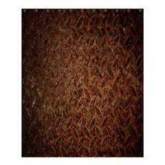 Texture Background Rust Surface Shape Shower Curtain 60  X 72  (medium)  by Simbadda