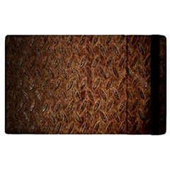 Texture Background Rust Surface Shape Apple Ipad 2 Flip Case by Simbadda