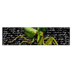 Mantis Satin Scarf (oblong) by Valentinaart