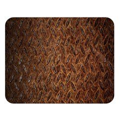 Texture Background Rust Surface Shape Double Sided Flano Blanket (large)  by Simbadda