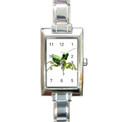 Mantis Rectangle Italian Charm Watch by Valentinaart