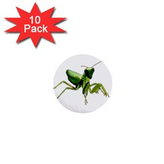 Mantis 1  Mini Buttons (10 Pack)  by Valentinaart