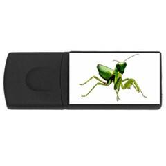 Mantis Usb Flash Drive Rectangular (4 Gb) by Valentinaart