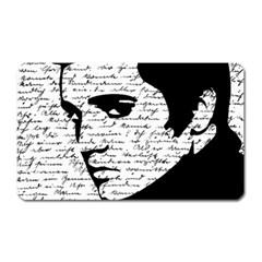Elvis Magnet (rectangular) by Valentinaart