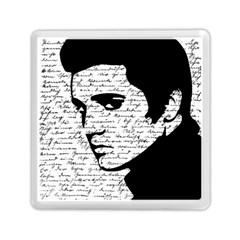 Elvis Memory Card Reader (square)  by Valentinaart