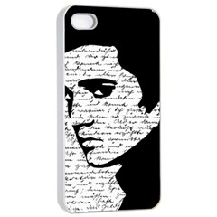Elvis Apple Iphone 4/4s Seamless Case (white) by Valentinaart