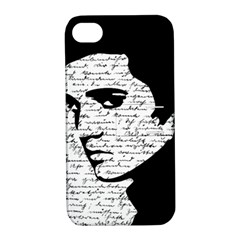 Elvis Apple Iphone 4/4s Hardshell Case With Stand by Valentinaart