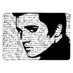 Elvis Samsung Galaxy Tab 8 9  P7300 Flip Case by Valentinaart