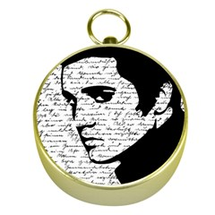 Elvis Gold Compasses by Valentinaart