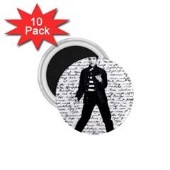 Elvis 1 75  Magnets (10 Pack)  by Valentinaart