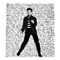 Elvis Shower Curtain 66  X 72  (large)  by Valentinaart