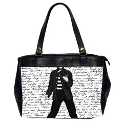 Elvis Office Handbags (2 Sides)  by Valentinaart