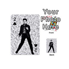 Elvis Playing Cards 54 (mini)  by Valentinaart