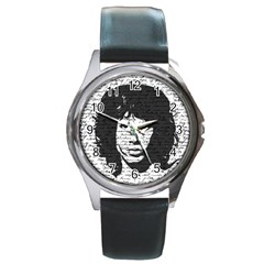 Morrison Round Metal Watch by Valentinaart