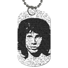 Morrison Dog Tag (one Side) by Valentinaart