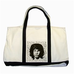 Morrison Two Tone Tote Bag by Valentinaart