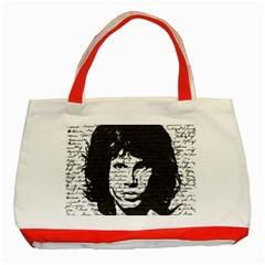 Morrison Classic Tote Bag (red) by Valentinaart