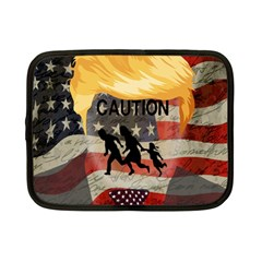Caution Netbook Case (small)  by Valentinaart