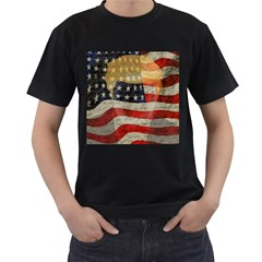 American President Men s T Shirt (black) (two Sided) by Valentinaart