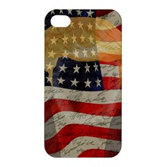 American President Apple Iphone 4/4s Premium Hardshell Case by Valentinaart