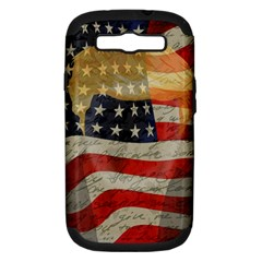 American President Samsung Galaxy S Iii Hardshell Case (pc+silicone) by Valentinaart