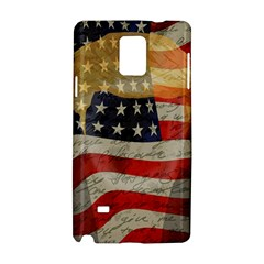 American President Samsung Galaxy Note 4 Hardshell Case by Valentinaart