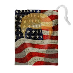 American President Drawstring Pouches (extra Large) by Valentinaart