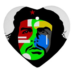 Che Guevara Ornament (heart) by Valentinaart