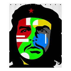 Che Guevara Shower Curtain 60  X 72  (medium)  by Valentinaart