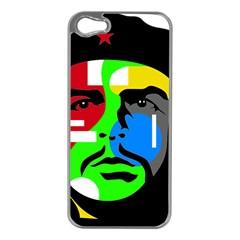 Che Guevara Apple Iphone 5 Case (silver) by Valentinaart
