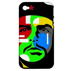 Che Guevara Apple Iphone 4/4s Hardshell Case (pc+silicone) by Valentinaart