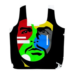 Che Guevara Full Print Recycle Bags (l)  by Valentinaart