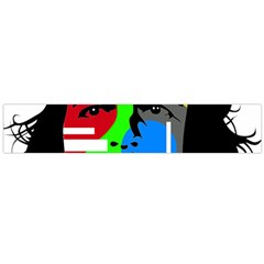 Che Guevara Flano Scarf (large) by Valentinaart
