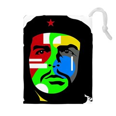 Che Guevara Drawstring Pouches (extra Large) by Valentinaart
