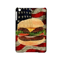 Hamburger Ipad Mini 2 Hardshell Cases by Valentinaart