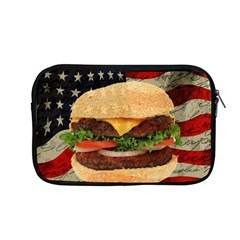Hamburger Apple Macbook Pro 13  Zipper Case by Valentinaart